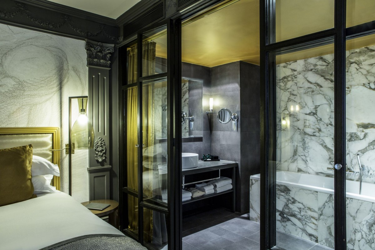 sofitel paris le faubourg opera suite. Black Bedroom Furniture Sets. Home Design Ideas
