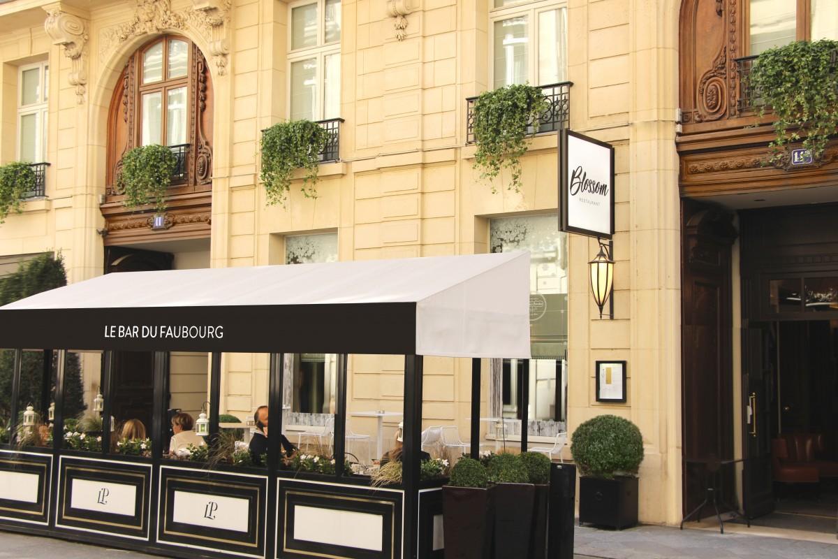 Sofitel Paris Le Faubourg Façade Et Terrasse Bar